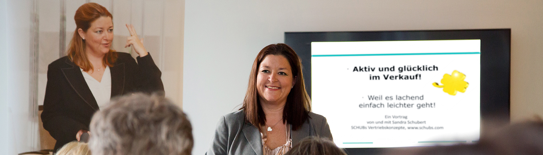 Schubs Vertriebskonzepte - Sandra Schubert - Training, Seminare, Vorträge - Vertriebskonzepte - Motivation
