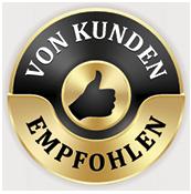 Schubs Vertriebskonzepte - Sandra Schubert - Training, Seminare, Vorträge - siegel von kunden empfohlen